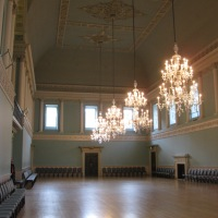 I'm going to pick the City of Bath as a topic for March and this week my subject is the Upper Assembly Rooms