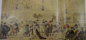 The Fancy Ball at the Upper Rooms by Robert Cruikshank, 1825