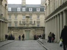 Colonnades leading to the Cross Bath