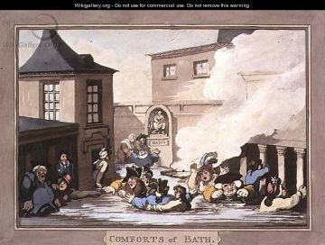 Rowlandson_The-Kings-Bath,-plate-7-from-Comforts-of-Bath,-1798