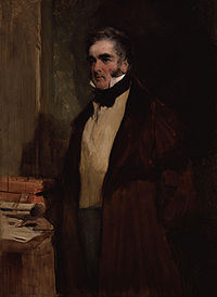 William in later life when he became Earl of Melbourne