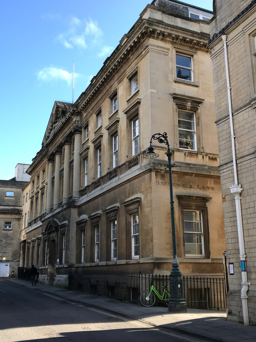 "Bath Royal Mineral Water Hospital: The Royal National Hospital for Rheumatic Diseases: Also known as ""The Min"" ~ a bit of history I am closely connected with"